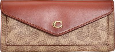 COACH Портмоне в телесен цвят / ръждиво червено, Преглед на продукта