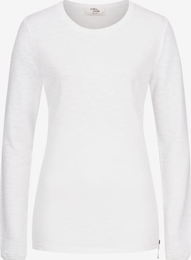 Cotton Candy Langarmshirt 'RIXA' in weiß, Produktansicht