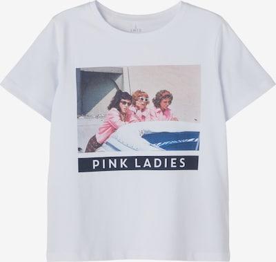 LMTD Shirt 'Grease' in de kleur Gemengde kleuren / Wit, Productweergave