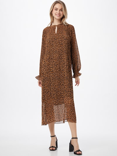 modström Kleid 'Hitta' in braun / schwarz, Modelansicht