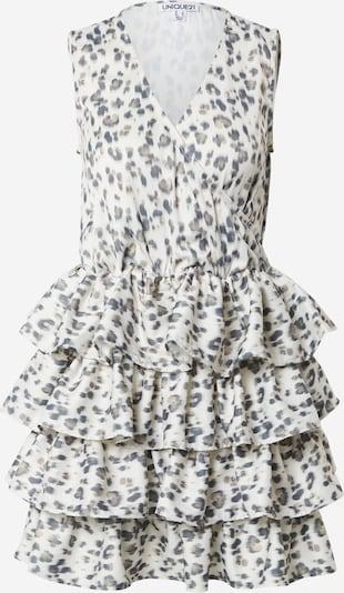Unique21 Kleid in beige / creme / nachtblau, Produktansicht