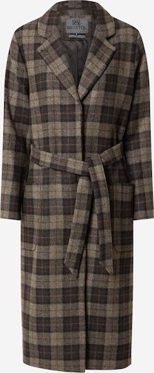 Palton de primăvară-toamnă 'Harper' Brixtol Textiles pe maro deschis / maro închis / negru, Vizualizare produs