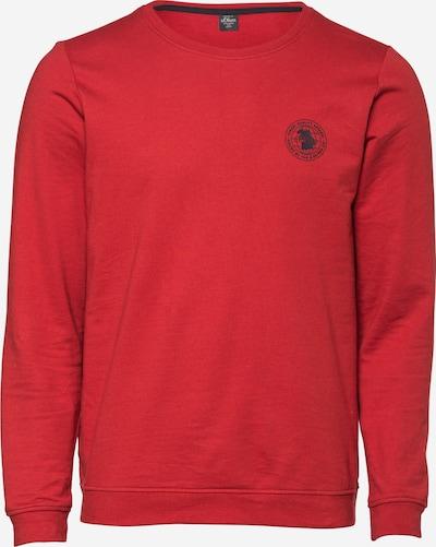 s.Oliver Sweatshirt in dunkelrot, Produktansicht