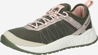 TIMBERLAND Låg sneaker 'Solar Wave' i grå / mörkgrön / ljusrosa, Produktvy