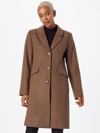 modström Between-Seasons Coat 'Pamela' in Brown, View model