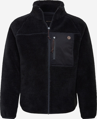 Jachetă  fleece 'Mackay' DEUS EX MACHINA pe negru, Vizualizare produs
