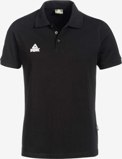 PEAK Polo-Shirt in schwarz, Produktansicht