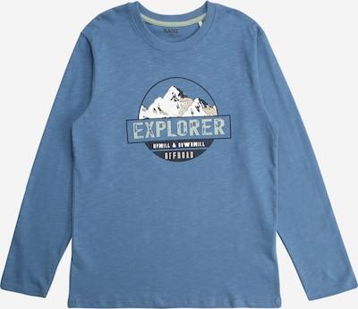 KANZ Camiseta en beige / azul noche / azul paloma / verde pastel / blanco, Vista del producto