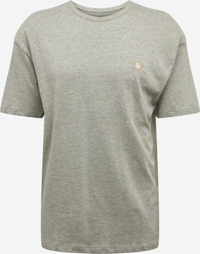 JACK & JONES T-Shirt 'HOLGER' in grau, Produktansicht