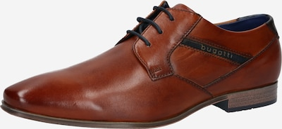 éjkék / rozsdabarna bugatti Fűzős cipő, Termék nézet