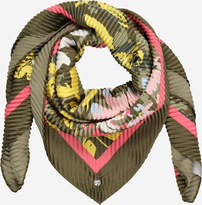 ESPRIT Shawl in khaki / mixed colours, Item view