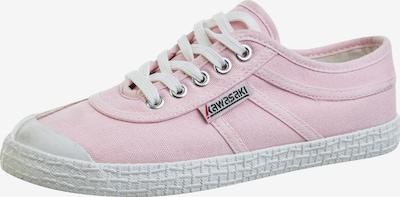 KAWASAKI Klassischer Sneaker im coolen Retrodesign in rosa / weiß, Produktansicht