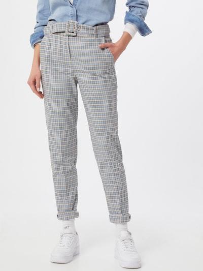 Esprit Collection Kalhoty s puky - krémová / pastelová modrá / jasně oranžová / černá, Model/ka