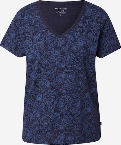 EDC BY ESPRIT T-shirt i marinblå / svart, Produktvy