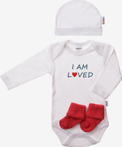 LILIPUT Baby-Bekleidung in rot / weiß, Produktansicht
