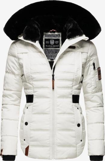 NAVAHOO Winterjacke 'Melikaa' in schwarz / weiß, Produktansicht
