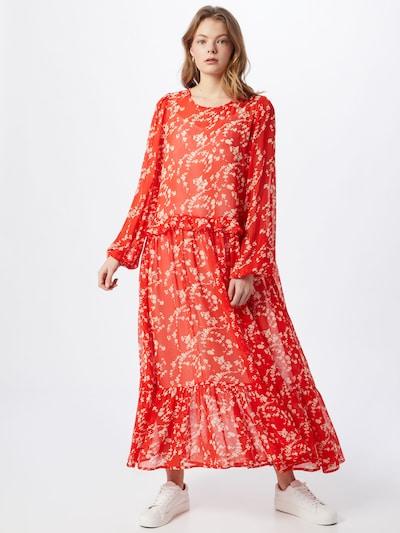 Love Copenhagen Kleid 'Buga' in knallrot / weiß, Modelansicht