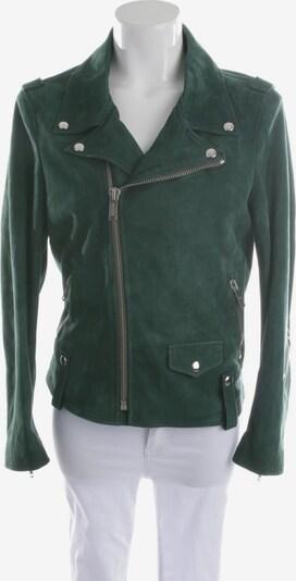 Golden Goose Lederjacke in XS in dunkelgrün, Produktansicht