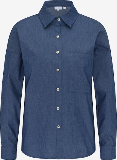 Bluză usha BLUE LABEL pe albastru amestec, Vizualizare produs