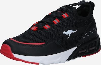 KangaROOS Sneaker in rot / schwarz / weiß, Produktansicht