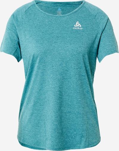 ODLO Функционална тениска в нефритено зелено / бяло, Преглед на продукта