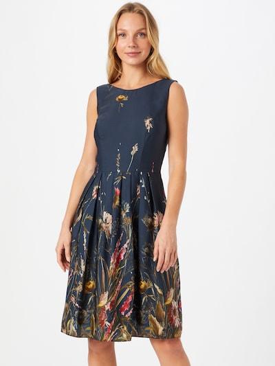 SWING Kleid in dunkelblau / mischfarben, Modelansicht