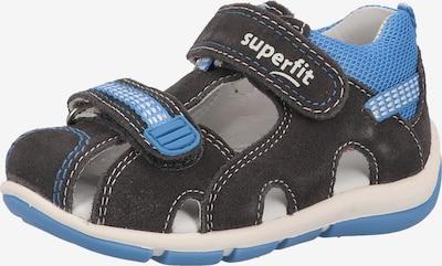 SUPERFIT Sandale in blau / anthrazit, Produktansicht