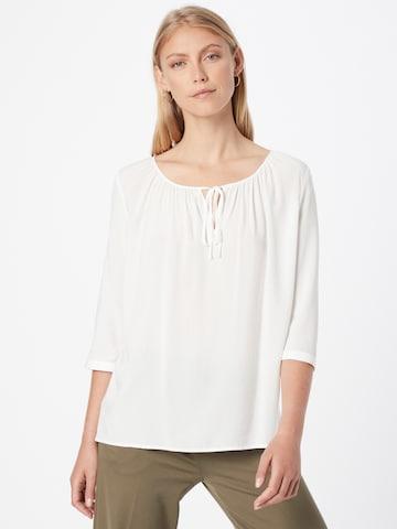 EDC BY ESPRIT Μπλούζα σε λευκό