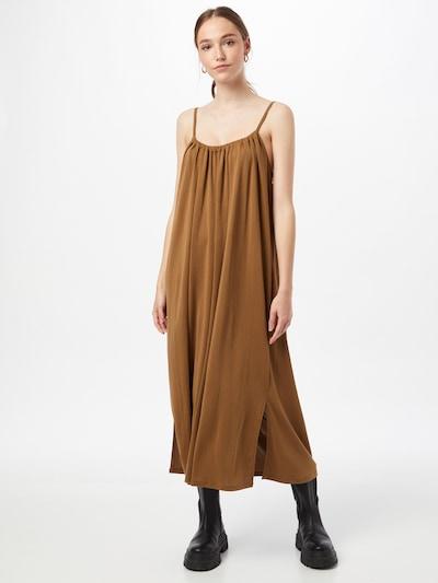 OBJECT Kleid 'WILMA' in braun, Modelansicht