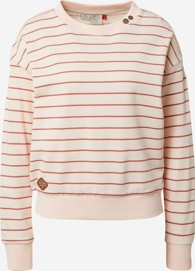 Ragwear Sweatshirt 'MAIKEN' in pfirsich / pastellrot, Produktansicht