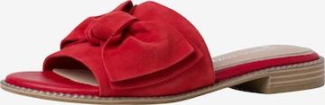 MARCO TOZZI by GUIDO MARIA KRETSCHMER Pantoletter i rød