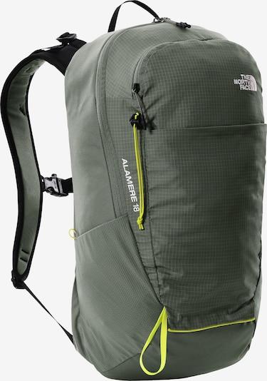 THE NORTH FACE Sportrugzak 'Basin 18' in de kleur Smaragd / Wit, Productweergave