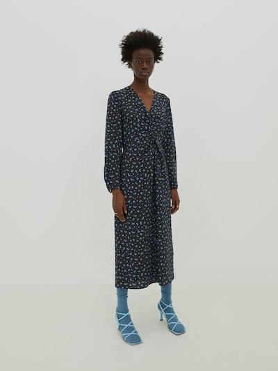 EDITED Šaty 'Nora' - modrá / čierna, Model/-ka