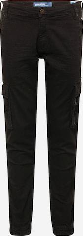 BLEND Klapptaskutega teksapüksid, värv must