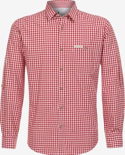 STOCKERPOINT Klederdracht overhemd in de kleur Rood / Wit, Productweergave