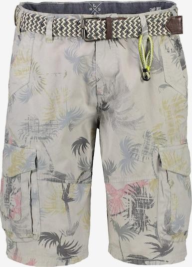 LERROS Shorts in pastellblau / gelb / hellgrau / hellrot, Produktansicht