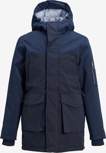Jack & Jones Junior Mantel in blau, Produktansicht