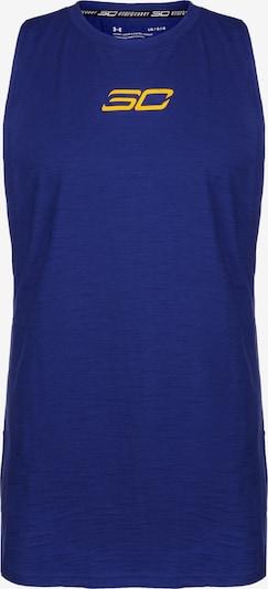 UNDER ARMOUR Basketballshirt Herren in blau, Produktansicht