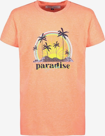 Cars Jeans T-Shirt 'Zephira' in Orange