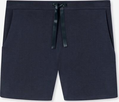 SCHIESSER Pantalon de pyjama ' 95/5 ' en bleu marine, Vue avec produit