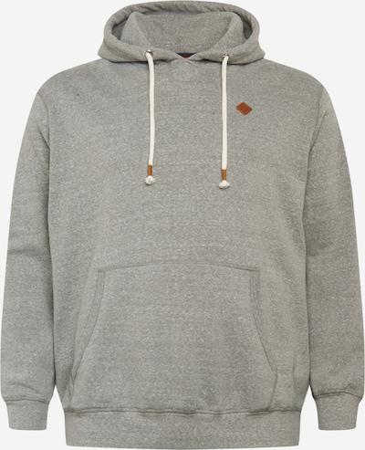 Jack & Jones Plus Sweatshirt in hellgrau, Produktansicht