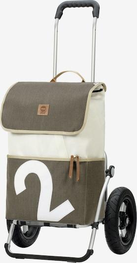 Andersen Shopper Cabas en olive / blanc cassé, Vue avec produit