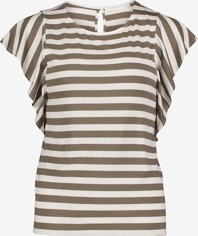 Betty & Co Shirt in braun / weiß, Produktansicht