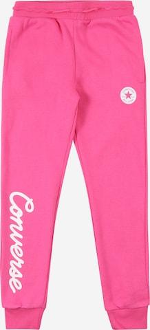 CONVERSE Püksid, värv roosa