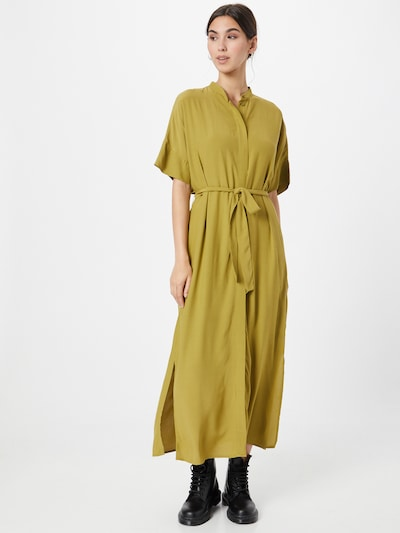 Esprit Collection Shirt Dress in Olive, View model