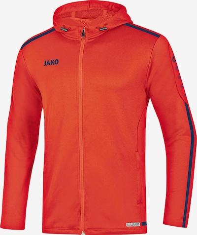 JAKO Jacke in orange / schwarz, Produktansicht