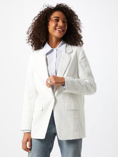 DRYKORN Blazer 'Gadsden' in weiß, Modelansicht