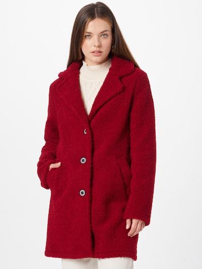 Amber & June Übergangsmantel in rot, Modelansicht