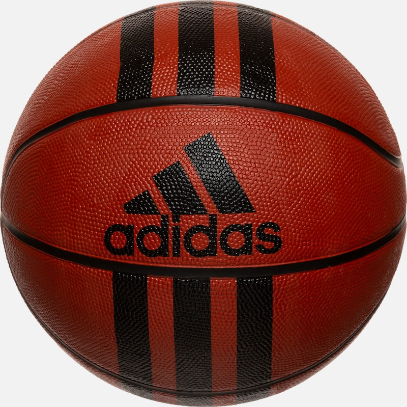 ADIDAS PERFORMANCE Basketball in rostrot / schwarz, Produktansicht