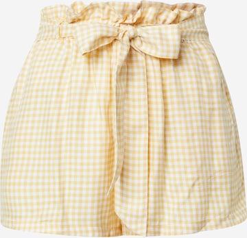 Pantalon HOLLISTER en jaune